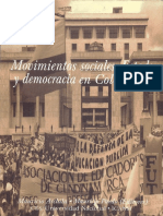 Movimientos sociales, estado y democracia en Colombia