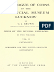 Catalogue of coins in the Provincial Museum Lucknow