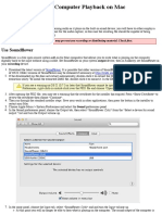 Tutorial - Recording Computer Playback on Mac - Audacity Manual