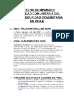 Derecho Comparado La Policia Del Peru y La Policia de Costa Rica