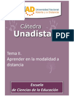 Catedra Unadista Tema II