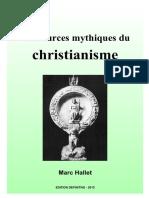 Les Sources Mythiques Du Christianisme - Edition Définitive 2015