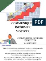 4 - Communiquer - Informer - Motiver