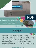 Elektrolit Analyzer-KEL 5