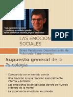 Emociones Sociales
