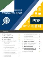 cara penulisan dan sitasi Newest Vancouver