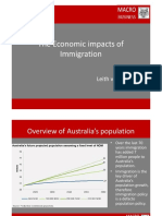 MB Sustainable Australia Presentation Immigration Nov 2016