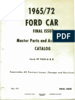 Ford Diagrams and Exploded Views 65-72