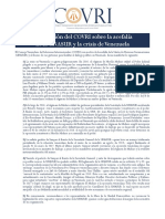 DECLARACION COVRI sobre acefalia UNASUR y crisis Vzla.pdf