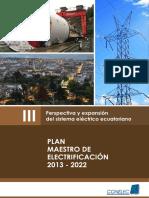 Plan Maestro Electrificacion Red Transmision