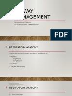 Airway Management ( Kuliah Panum)