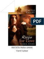 Carol Lynne - Cattle Valley - 15 Receta para Amar.doc