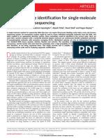 Continuous base identification for single-molecule nanopore DNA sequencing