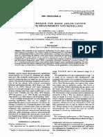 A Novel Technique for Rapid Vle Measurement and Modelling