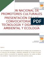 PRESENTACIÓN DE LAS CONVOCATORIAS DE TECNOLOGÍA