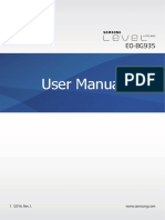 Samsung Level U Pro EO-BG935 User Manual