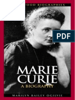 Biografia de Marie Curie - Bailey Ogilvie, Marilyn