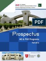 Prospectus Final 2016 Batch