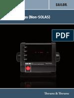 Alarm Panal for FBB500 250 User Manual