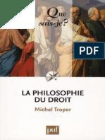 La Philosophie Du Droit - Troper Michel