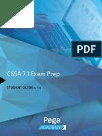 CSSA 7.1 Exam Prep