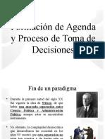 Formación de Agenda