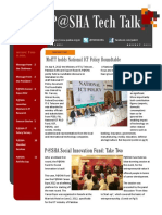 P@SHA Tech Talk Aug Issue 20121