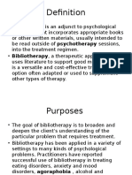 bibliotheraphy 1