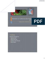 Nutrition in CVDs