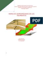 Mapas de Isopropiedades de Los Yacimientos TRABAJO