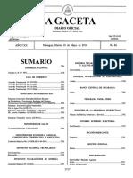 Calendario Electoral Nicaragua 2016