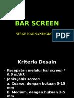 Bar Screen