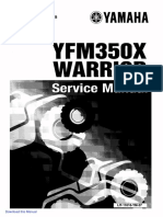 1990 2004.Yamaha.yfm350X.warrior.factory.service.manual