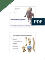PDF UA N° 2 Sist. locomotor Osteologia Axial Apendicular  EDV UAC 2015.