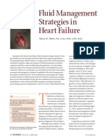 Journals Relation of Fluid and Heart Failure