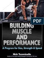 Libro Nick Tuminello Buiding Muscle
