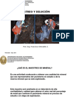 Clase05 2015 II Muestreo y Dilucion