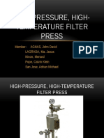 High Pressure High Temperature Filter Press Report