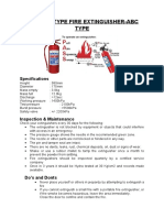 9 Kg Dcp ABC Type Fire Extinguisher