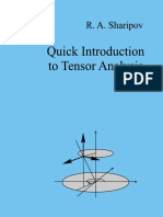 A Quick Introduction to Tensor Analysis - R. Sharipov.pdf