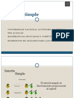 1.- Interes Simple Introducción