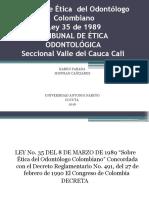 Código de Ética Del Odontólogo Colombiano 1 (1)