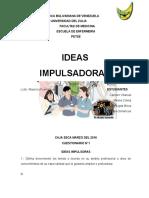 CUESTIONARIO Ideas Impusadoras.