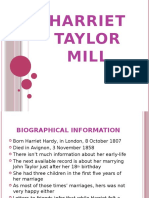 Harriet Taylor Mill