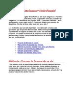 (Psychologie) Méthode Pour Séduire Les Femmes (Fr)