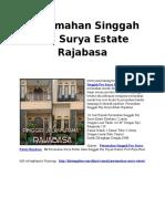Kitssupplies.com Perumahan Singgah Pay Surya Estate Rajabasa