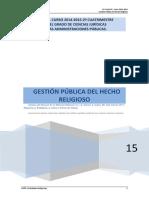 Apuntes Aapp y Entidades Religiosas 2014-2015