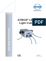 Atmos Ledlightcube Operating Instructions