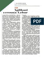 PDF Bisnis Aplikasi Terbuka Lebar
