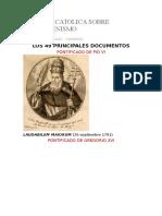 POSICION CATOLICA SOBRE EL Ecumenismo Documentos Papales